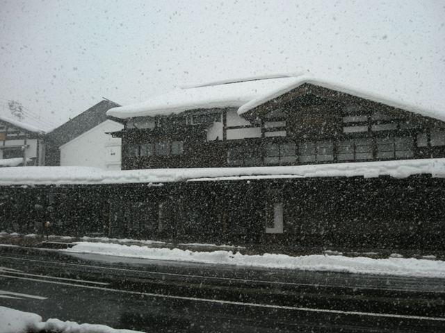 鶴齢さん雪