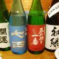 小島さんのライブの日本酒