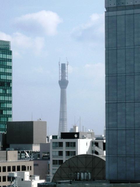 KKRホテル東京からのスカイツリー